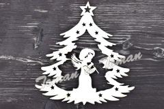 stromeček  s andělem