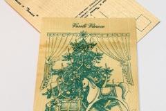 Koník u stromečku - zelená