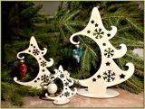 Vánoční stromečky vyřezávané