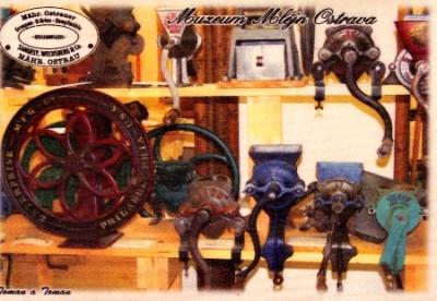 Muzeum Mlejn Ostrava - provedení barva