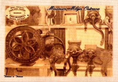 Muzeum Mlejn Ostrava - provedení sépie