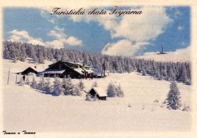 Švýcarna - zima barva