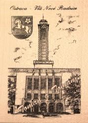 Ostrava – věž Nové radnice