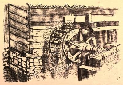 7 Rožnov - vodní mlýn