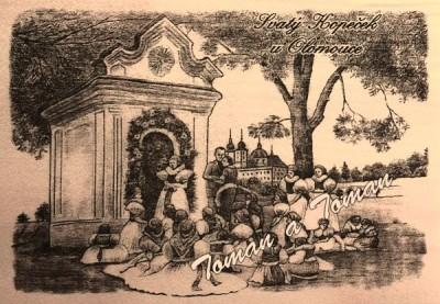 9a Svatý kopeček - krojování